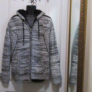 Men's size Medium sweater Coat - Oxygen